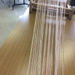 卓上の織り機